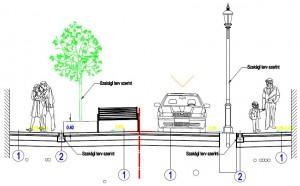 Budapest VIII. kerület Mária utca komplex engedélyezési és kiviteli tervének készítése
