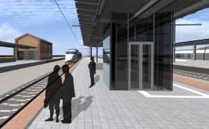 Murony vasútállomás peronlefedés kiviteli terveinek elkészítése